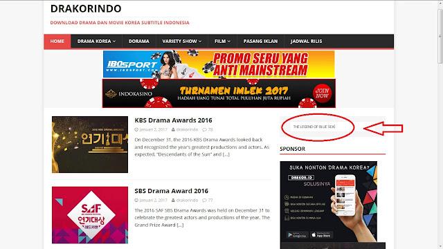 Cara Download Drama Korea di Drakorindo