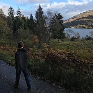 Anthony walks in Scotland