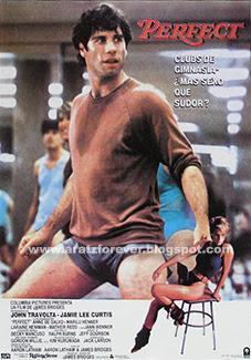 Perfect, John Travolta, Jamie Lee Curtis