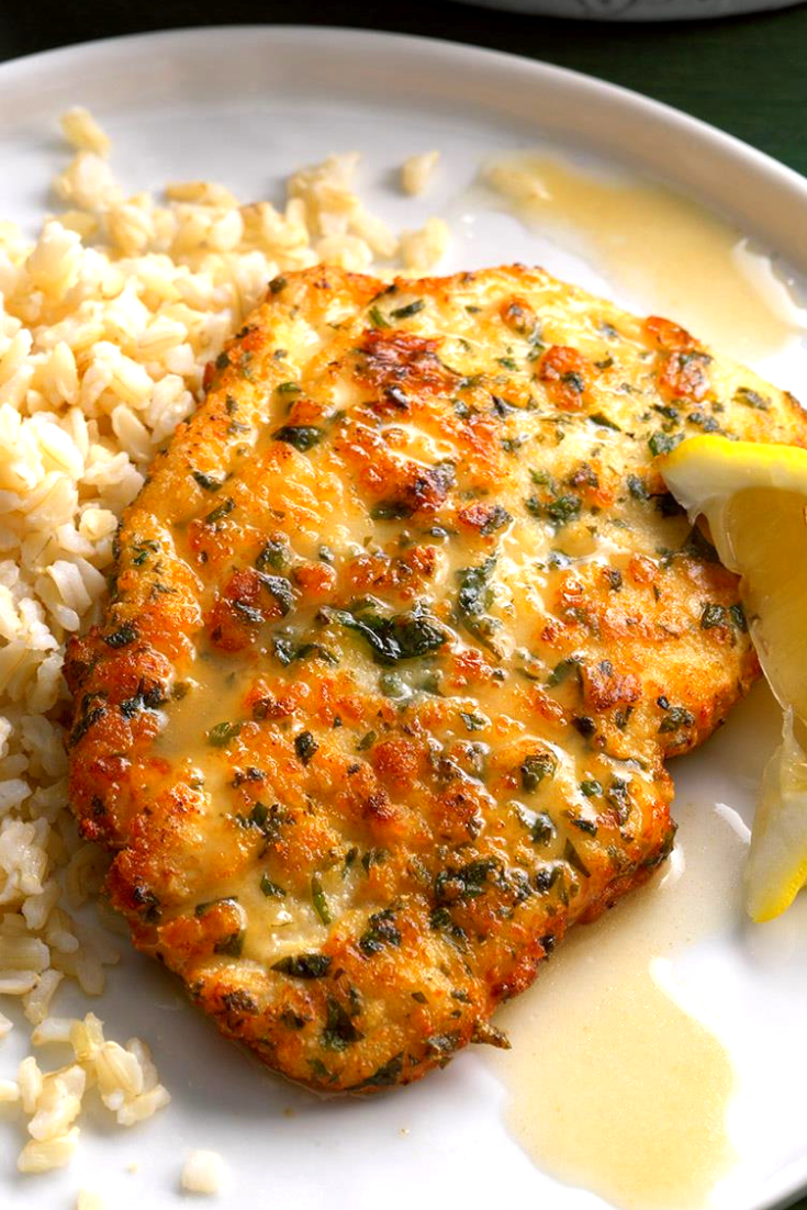 DELICIOUS CHICKEN PICCATA WITH LEMON SAUCE