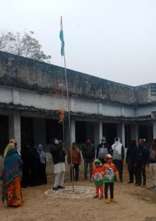 मदरसा दारुल इरफान और इंटेलेक्चुअल पब्लिक स्कूल में मनाया गया गणतंत्र दिवस  | #NayaSaberaNetwork