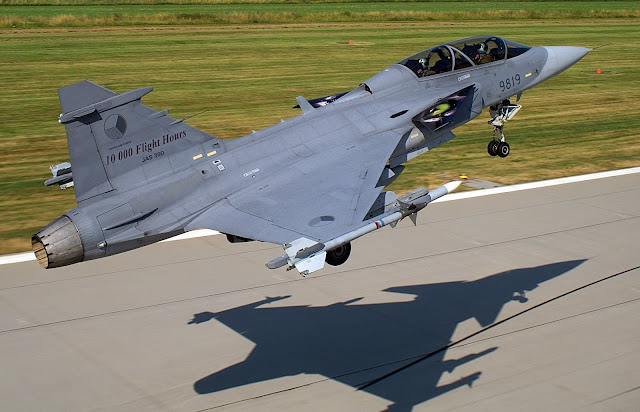 saab jas-39 gripen czech air force
