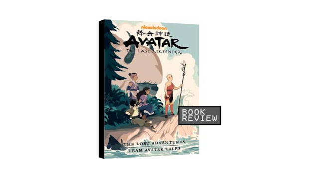 Avatar: The Last Airbender-The Lost Adventures and Team Avatar Tales