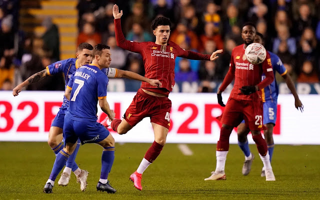 Video Cuplikan Gol: Shrewsbury Town 2-2 Liverpool (FA Cup)