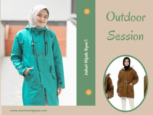 jaket outdoor for hijabers
