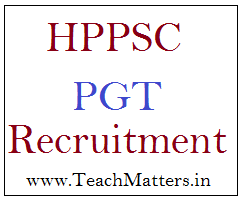 imag : HPPSC PGT Recruitment 2019-20 @ TeachMatters