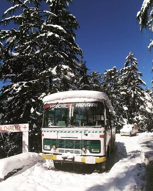 Shimla to Delhi