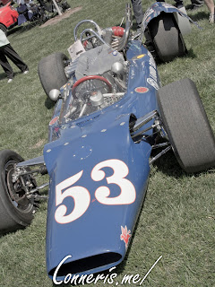 1964 Huffaker Indy Car MG Liquid Suspension Special