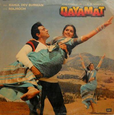 Poster Of Hindi Movie Qayamat 1983 Full HD Movie Free Download 720P Watch Online