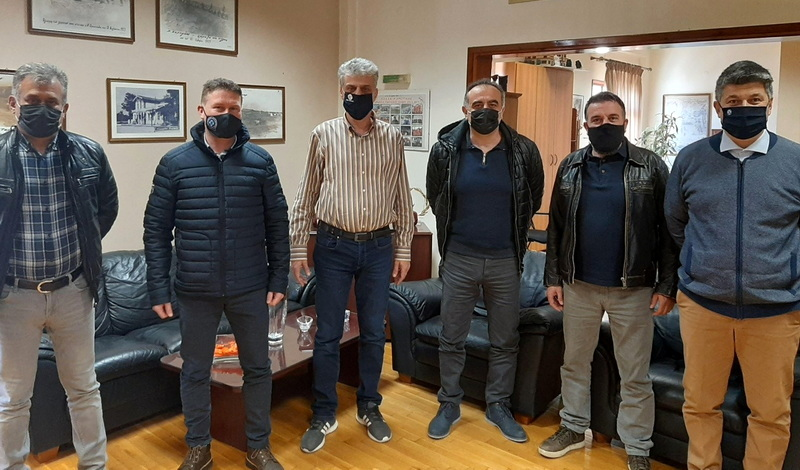 Συνάντηση Αστυνομικών με τον Δήμαρχο Ορεστιάδας για το ΚΥΤ - ΠΡΟΚΕΚΑ Φυλακίου