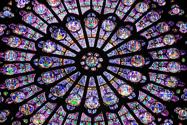 Stained GLASS WINDOWS in Cathedrals