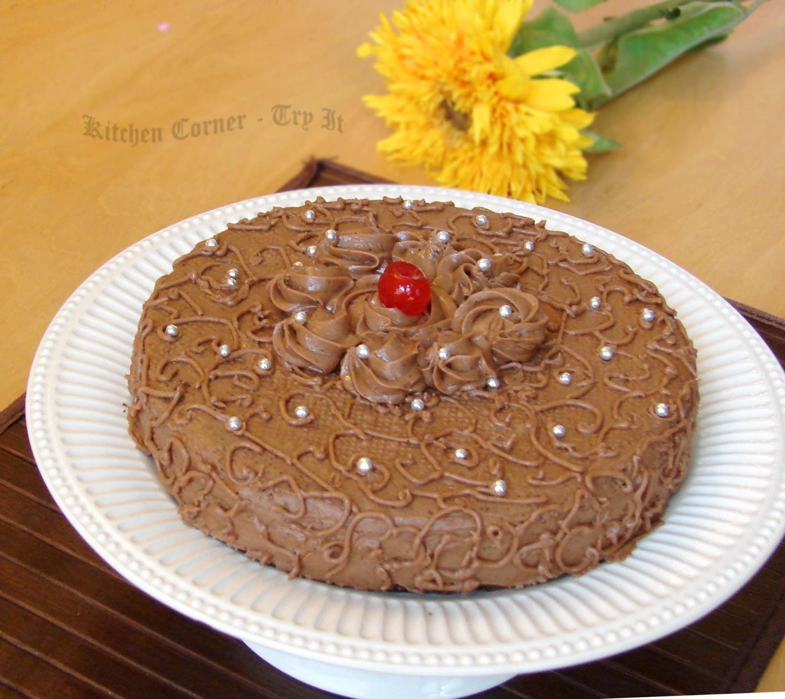Chocolate Espresso Cake Proof Bakery