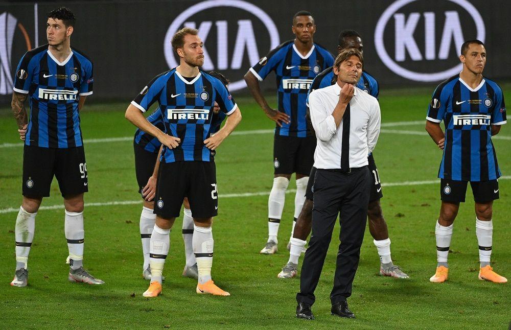 تشكيلة انتر ميلان ضد أتلانتا اليوم  2020/11/8 في قمة الدوري الإيطالي،