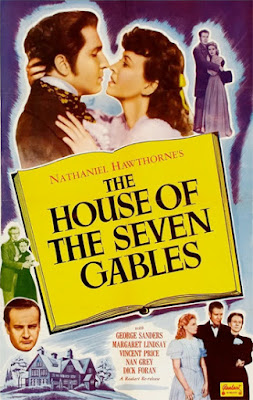 Poster - The House of the Seven Gables (1940)