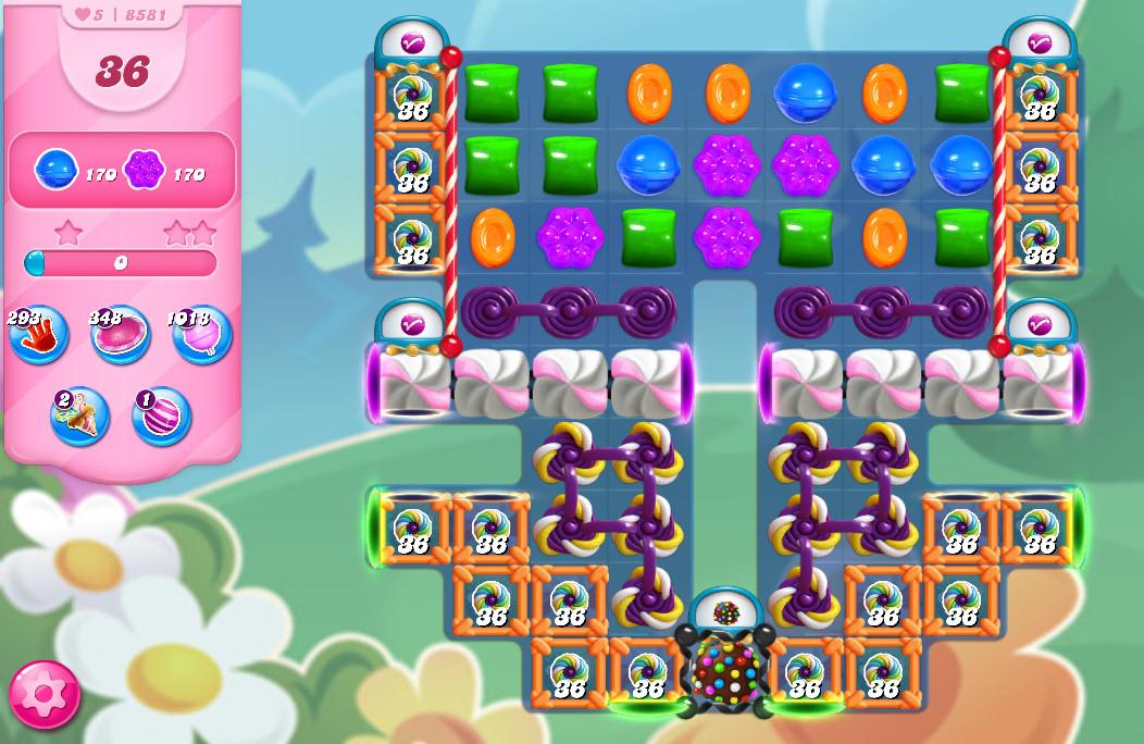 Candy Crush Saga level 8581