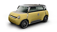 Toyota Me.WE Concept yellow