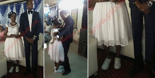 Photos Of A Nigerian Bride Rocking Sneakers For Her Wedding Ceremony