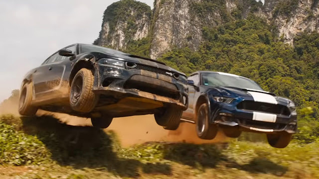 flying cars racing in the jungle