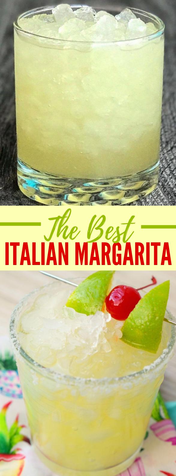 THE BEST ITALIAN MARGARITA YOU'VE EVER TASTED #drinks #classiccocktail