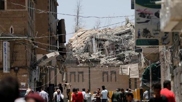 Innalillahi! Arab Saudi Bom Kantor Kepresidenan Yaman, 6 Orang Meninggal