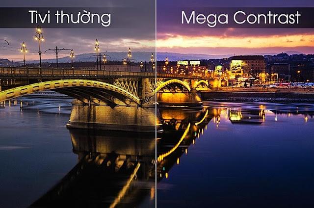 Công nghệ Mega Contrast