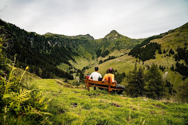 Schusterkogel  Bergwanderung Saalbach  Talschluss Hinterglemm  Wanderung-Saalbach  Wandern-Saalbach SalzburgerLand 03