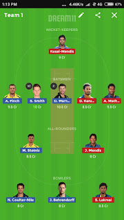 Australia vs SriLanka Warmup Match Dream11 Team Southampton