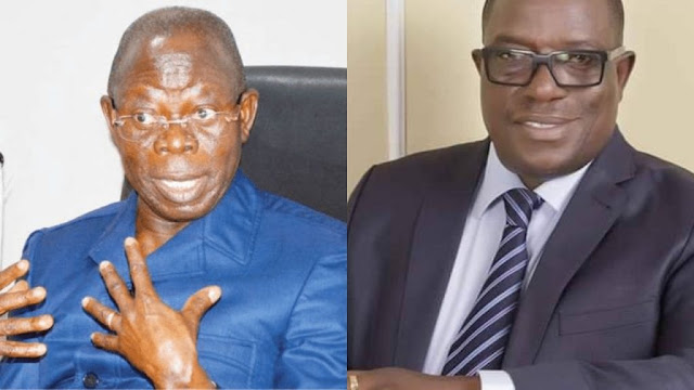 APC crisis: Fear God, have common sense – Oshiomhole blasts Giadom over National Chairman claim