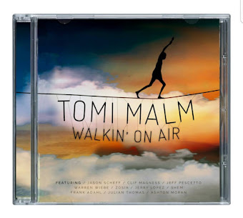 "Order Tomi Malm's ""Walkin' On Air"" NOW - Click Photo"