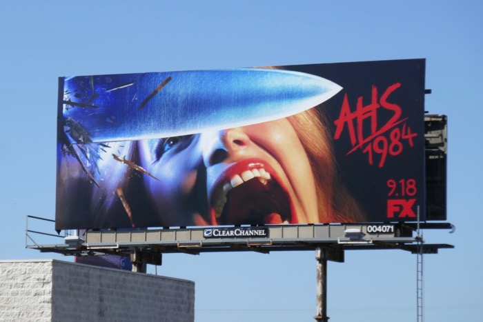 American Horror Story 1984 billboard