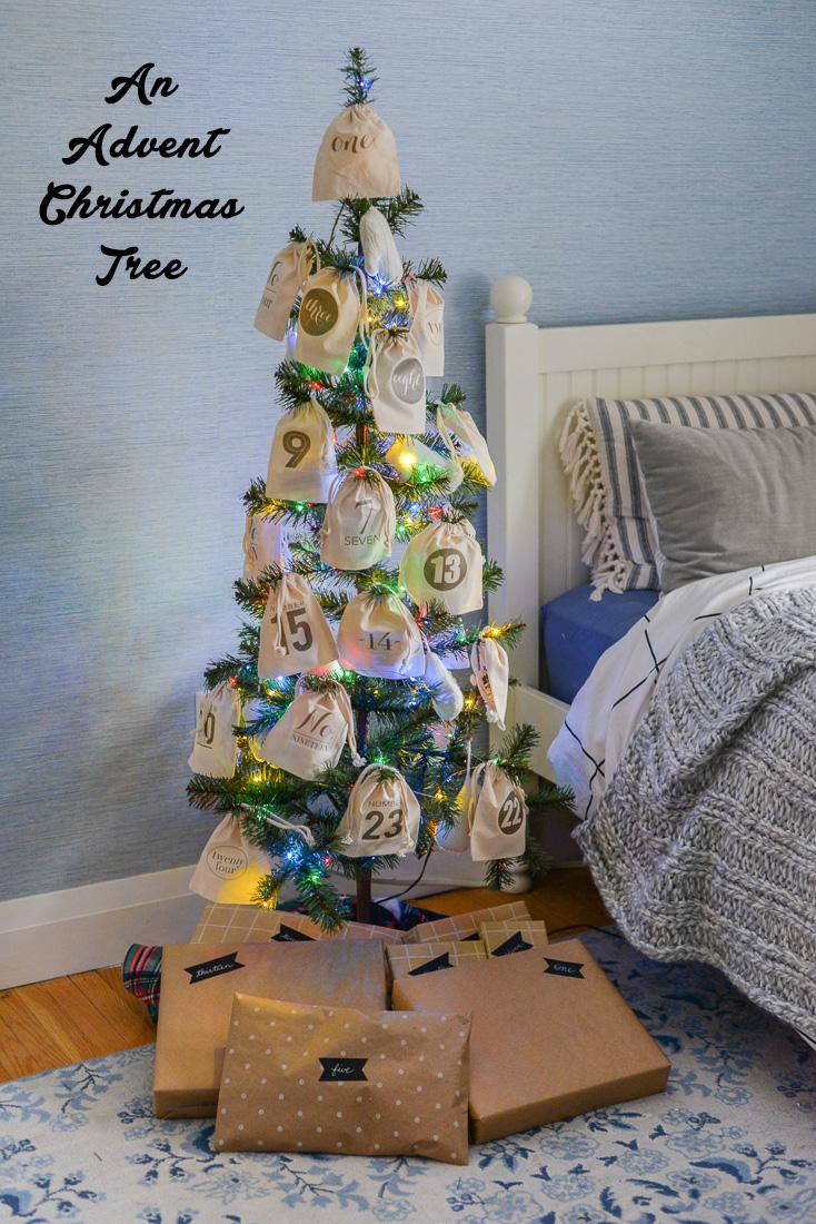 advent christmas tree, advent gift ideas, advent filler