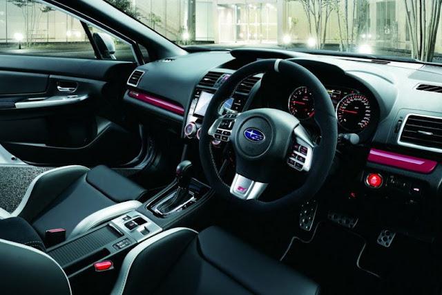 2017 Subaru STI WRX S4 TS Interior