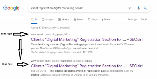 SEOsiri Clients Registration