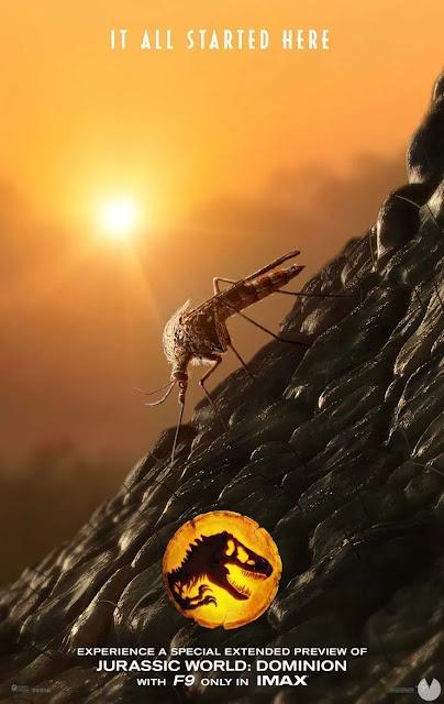 'Jurassic World: Dominion' enseña sus plumas: primer adelanto y nuevo póster