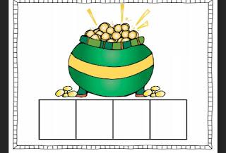 Pots of Gold Segmenting FREEBIE!