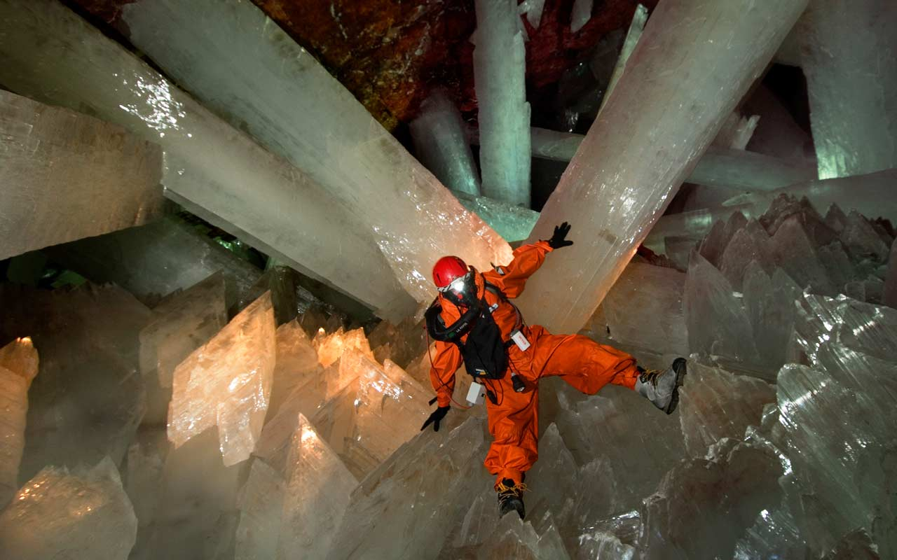 Cave Of Crystals Quot Giant Crystal Cave Quot At Naica Mexico