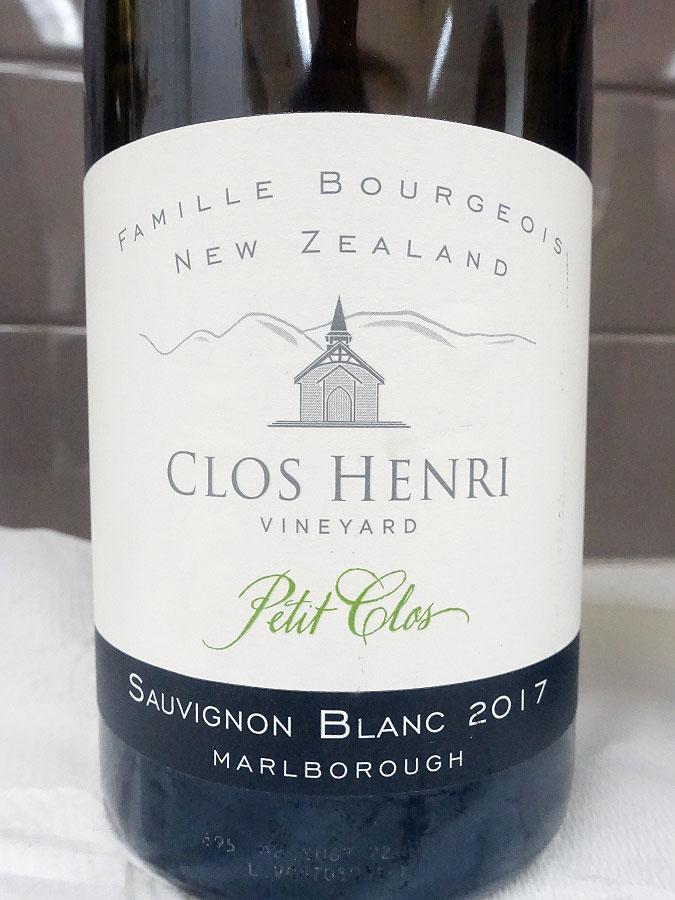 Clos Henri Petit Clos Sauvignon Blanc 2017 (89 pts)
