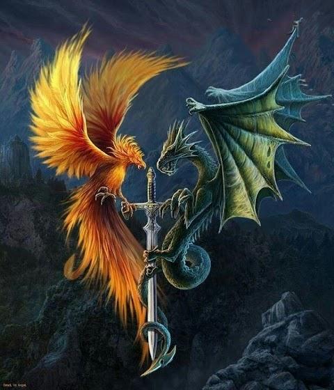Phượng Hoàng và Rồng