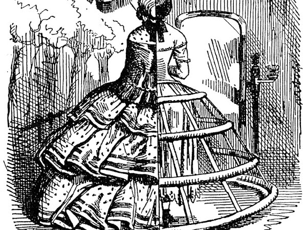 Hoopskirts Wider Than Doors: Fact or Fiction?