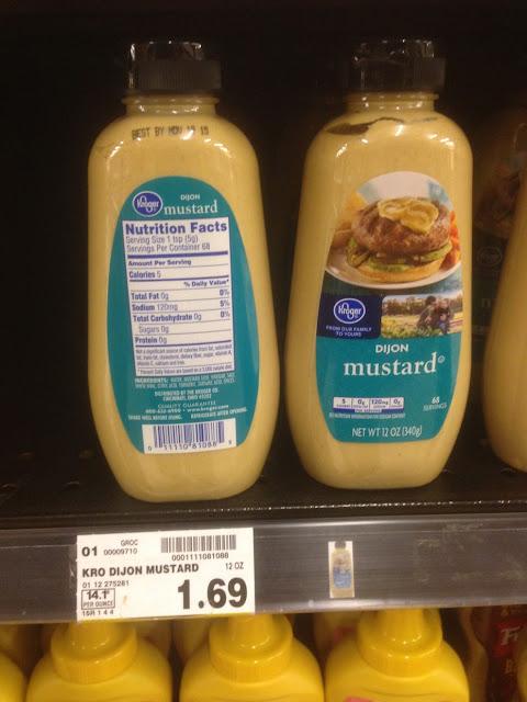 Dijon Mustard - Kroger