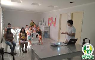 """Em Picuí, gestantes do programa """"Bebê da cidadania"""" participam de palestra socioeducativa"""