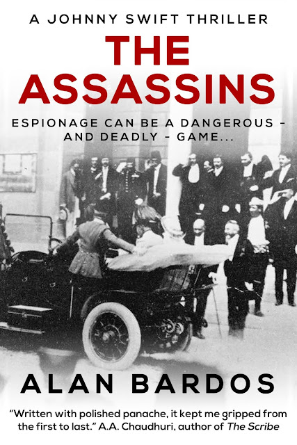 [Audio Blog Tour] 'The Assassins' By Alan Bardos (Audiobook Narrated By Jack Bennett) #HistoricalFiction #Thriller
