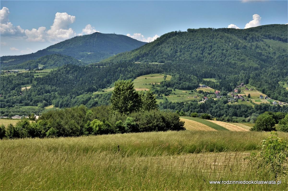 Z Kasiny Wielkiej do Mszany Dolnej przez Lubogoszcz