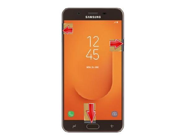 Cara Reset Hp  Samsung J7 Prime 2