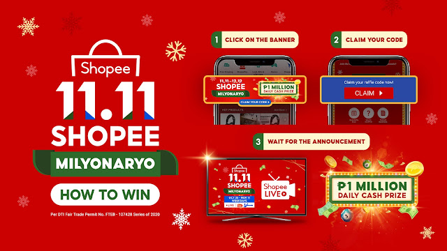 Shopee Is Giving Away ₱1 Million Daily with Shopee Milyonaryo