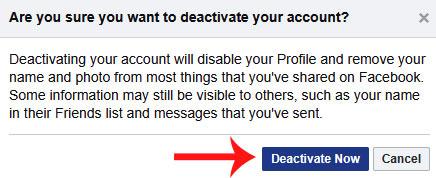 facebook ko deactivate kaise kare