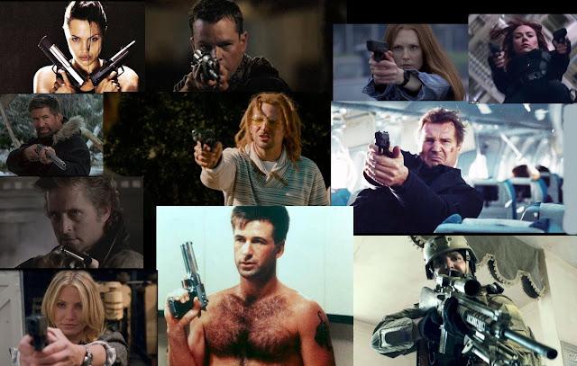 Anti-Gun Stars with Guns