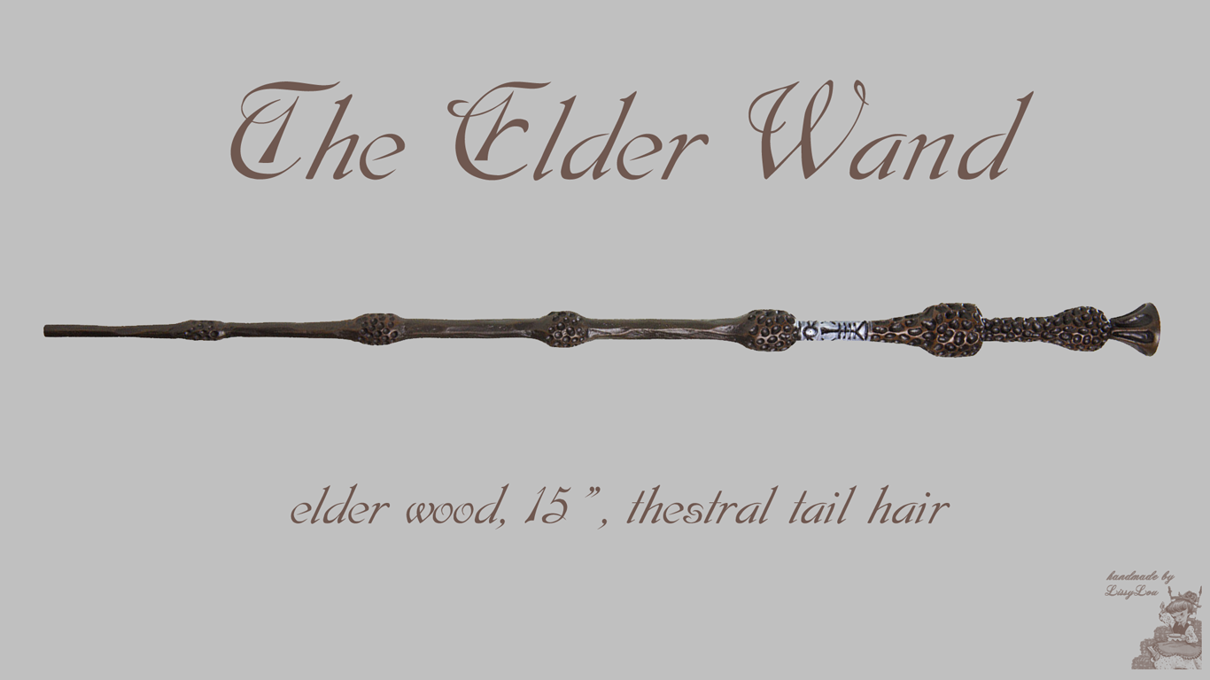 Handmade by lissy lou harry potter wand wallpapers set8 for Harry potter wands elder wand