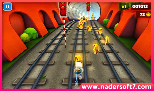 تحميل لعبة صب واي Subway Surfers للكمبيوتر احدث اصدار