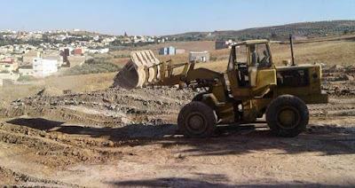 انطلاق أشغال بناء ملعب للقرب بتاعياشت - المنزل